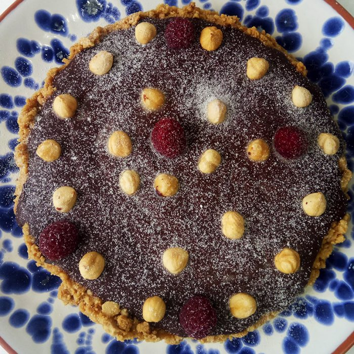 Tarte de Chocolate Negro